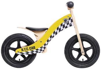 Rebel Kidz Laufrad Wood Air Speedster NY Taxi