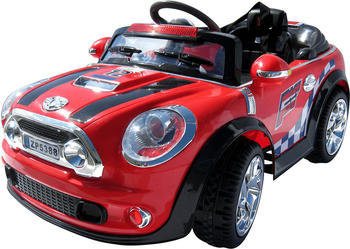 Actionbikes Kinder Elektroauto MINI Style 5388 rot (PR0014954-01)