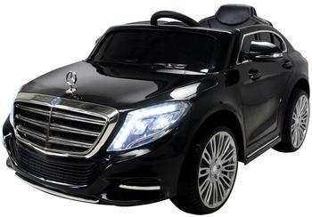 Actionbikes Kinder Elektroauto Mercedes S600 Lizenziert schwarz
