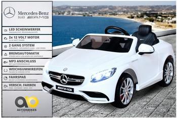 Actionbikes Kinder Elektroauto Mercedes Lizenziert AMG S63 weiß (PR0017876-02)