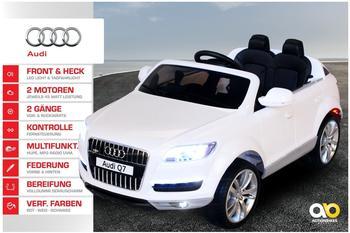 Actionbikes Kinder Elektroauto Audi Q7 Suv Lizenziert weiß (PR0016035-02)