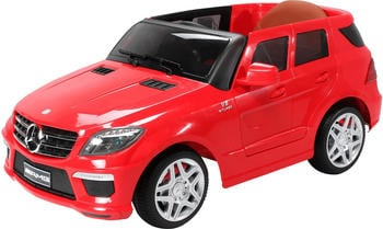 Actionbikes Kinder Elektroauto Mercedes ML63 Lizenziert rot (PR0017819-02)