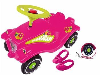Big Bobby Car Pink Flower mit Schuhschoner