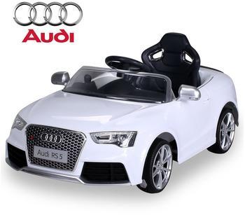 Actionbikes Kinder Elektroauto Audi RS5 Lizenziert weiß