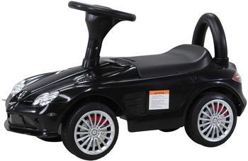Actionbikes Kinder Rutschauto Mercedes SLR Lizenziert schwarz