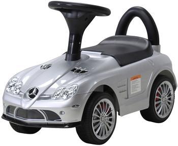 Actionbikes Kinder Rutschauto Mercedes SLR Lizenziert lackiert silber