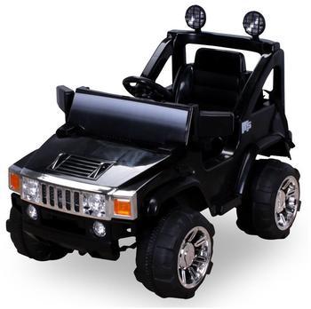 Actionbikes Kinder Elektroauto Hummer Jeep A30 2 x 35 W schwarz (PR0003656-03)