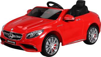 Actionbikes Kinder Elektroauto Mercedes Lizenziert AMG S63 rot (PR0017876-03)