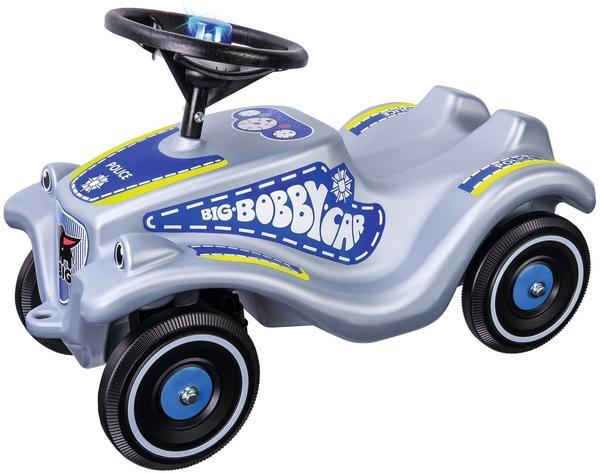 Big Bobby Car Classic Polizei silber/blau