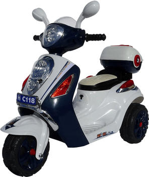 Actionbikes Kinder Elektroroller C118 dunkelblau (PR0003450-01)