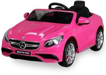 Actionbikes Mercedes AMG S63 lizenziert pink (PR0017876-01)