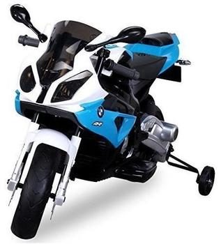 Actionbikes Kinder Elektro Motorrad BMW S1000 RR Lizenziert JT528 blau