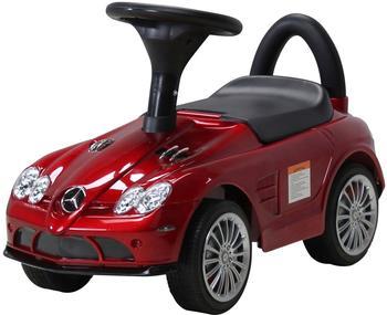 Actionbikes Kinder Rutschauto Mercedes SLR Lizenziert lackiert rot