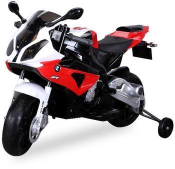 Actionbikes Kinder Elektro Motorrad BMW S1000 RR Lizenziert JT528 rot