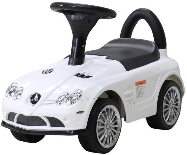 Actionbikes Kinder Rutschauto Mercedes SLR Lizenziert weiß