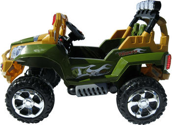 Actionbikes Kinder Elektroauto Jeep 801 gelb (PR0003510-02)