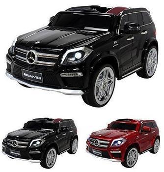 Actionbikes Kinder Elektroauto Mercedes GL63 Lizenziert schwarz (PR0017817-02)