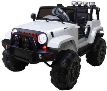 Actionbikes Kinder Elektroauto Offroad Jeep BDM0905 weiß (PR0017871-01)