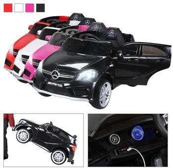 Actionbikes Kinder Elektroauto Mercedes Benz AMG A45 lizenziert 2 x 35 schwarz