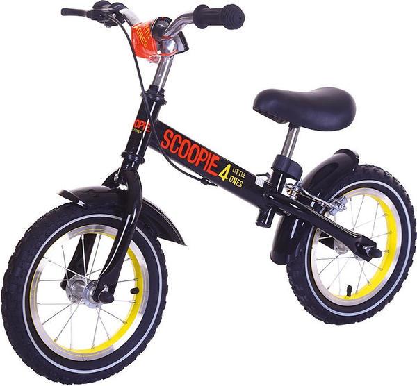 Baby Plus Laufrad Scoopie schwarz/gelb