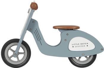 Little Dutch Wooden scooter blue