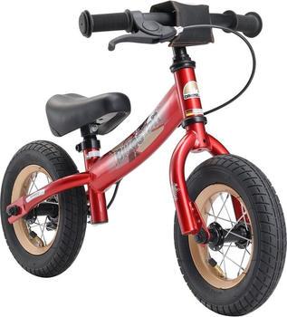Bikestar 10 Zoll (25.4cm) herzschlag rot
