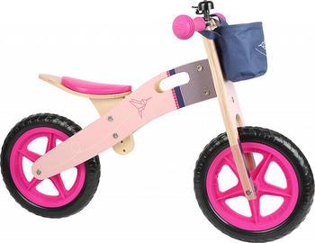 Small Foot Design Laufrad aus Holz rosa Kolibri