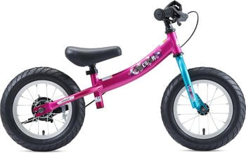 Bikestar Kinder Laufrad ab 3-4 Jahre, 12 Zoll Sport Kinderlaufrad - Berry & Türkis