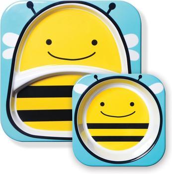 Skip Hop Zoo Esslernteller und Breischale Bee