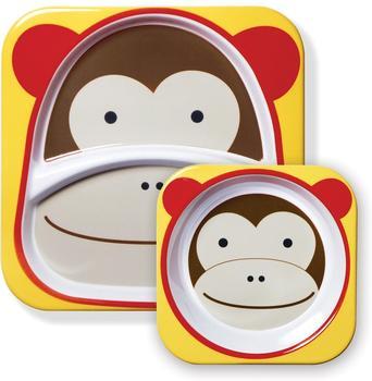 Skip Hop Zoo Esslernteller und Breischale Monkey