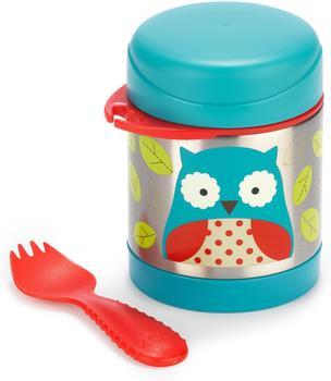 Skip Hop Zoo Insulated Little Kid Food Jar Owl