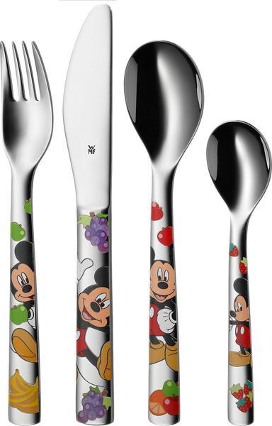 WMF Cromargan 18/10 Kinderbesteck Micky Mouse 4 tlg.