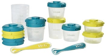 Beaba Pack First Meal green/blue