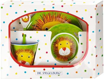 Coppenrath Melamin Kindergeschirr-Set Löwe Freche Rasselbande