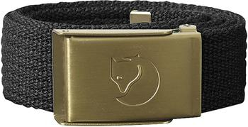 Fjällräven Kids Canvas Brass Belt dark grey