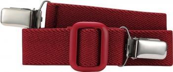 Playshoes Elastischer Kindergürtel mit Clips (601200) rot