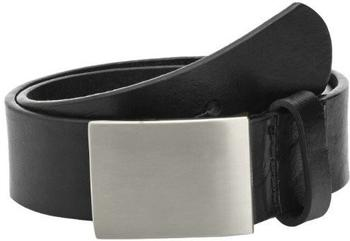 Playshoes Kinder Ledergürtel mit Metallschnalle (601510) schwarz