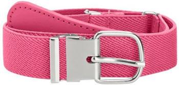 Playshoes Elastischer Kindergürtel mit echtem Leder (601300) pink