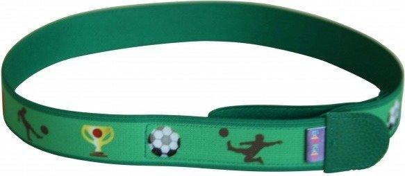 Ed&Kids Kindergürtel mit Motiv Fußball grün