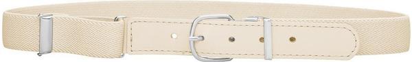 Playshoes Elastischer Kindergürtel mit echtem Leder (601300) natur