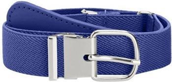 Playshoes Elastischer Kindergürtel mit echtem Leder (601300) marine