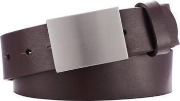 Playshoes Kinder Ledergürtel mit Metallschnalle (601510) braun