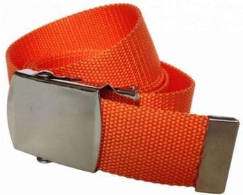 Doktor Hardstuff Kinder Gürtel mit Farbe orange