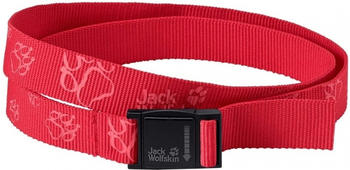 Jack Wolfskin Kids Magneto Belt tulip red
