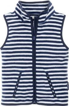 Playshoes Fleece-Weste Maritim marine/weiß (420025)