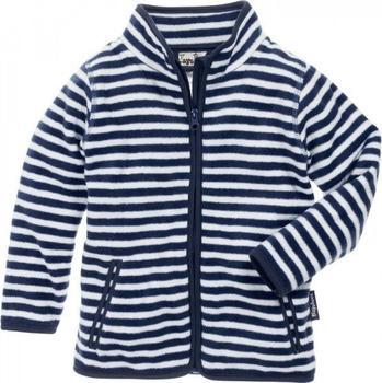 Playshoes Fleece-Jacke Maritim marine/weiß (420024)