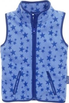 Playshoes Fleece-Weste Sterne blau (420028)