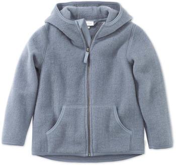 hessnatur Kinder Wollfleece Jacke (46361) nebelblau