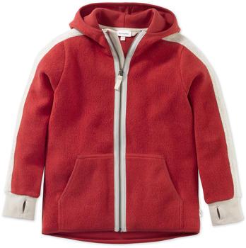 hessnatur Kinder Fleece Jacke (47915) hagebutte