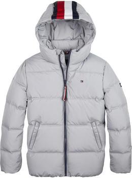 Tommy Hilfiger Essential Padded Hooded Jacket sleet (KB0KB05138-PFG)